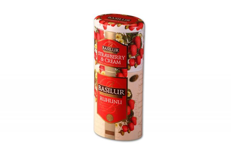 Basilur Strawberry + Ruhunu 125g