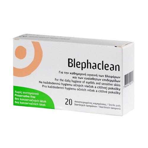 Blephaclean 20 steriln�ch tampon�