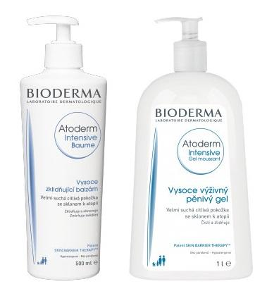 BIODERMA Atoderm Intens. baume + gel moussant