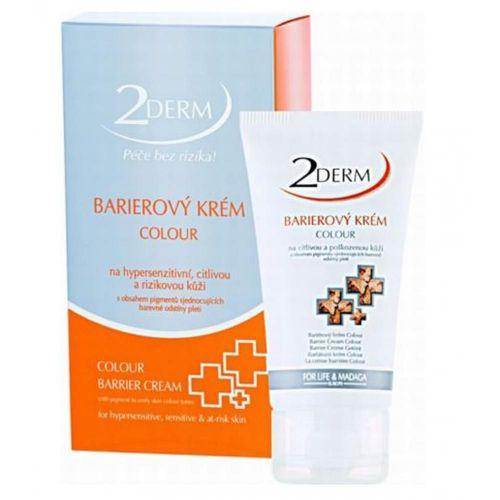 2DERM Barierov� kr�m colour 50ml