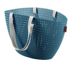 KNIT Emily bag Ocean Blue