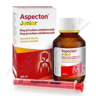 Aspecton Junior Sirup p�i such.a dr�d.ka�li 100ml